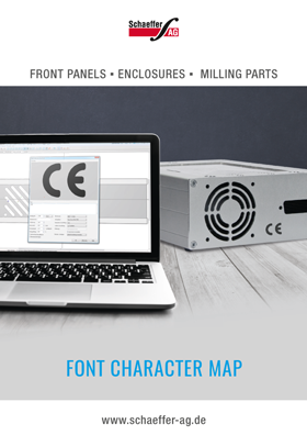 Font-Character-Map